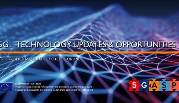 The 1st 5GASP Educational webinar